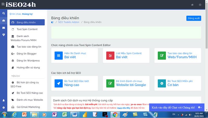 giới thiệu công cụ trộn nội dung động spin content editor